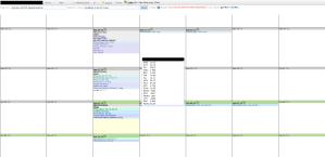 Ankhos calendar example